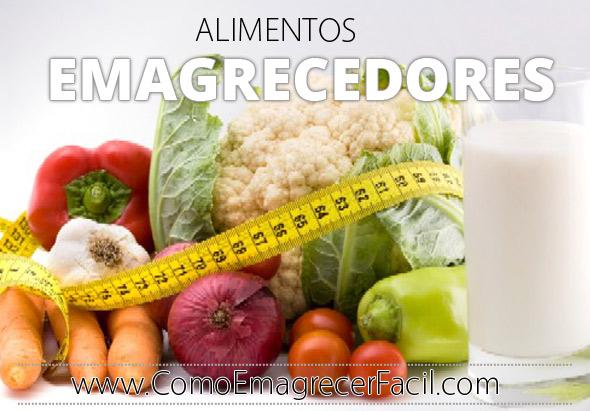 Quais Os Alimentos Que Emagrecem, Lista Dos Alimentos Emagrecedores
