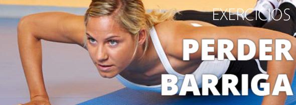 quais os melhores exercicios para perder a barriga